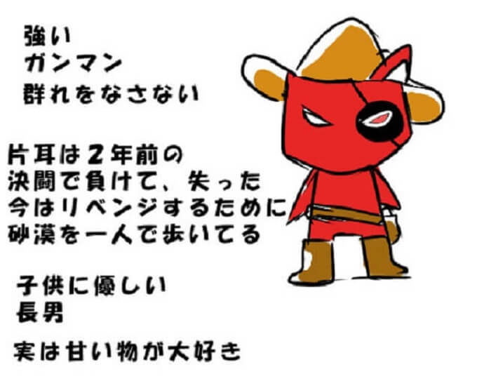 オリジナルキャラクターの解説