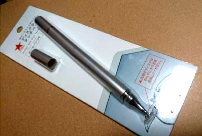 キャンドゥのディスクタイプタッチペン